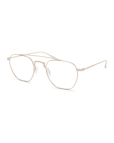 Barton Perreira Men's Doyen Titanium Aviator Glasses
