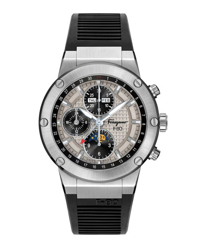 Men's F-80 Moon Phase Automatic Chronograph Watch