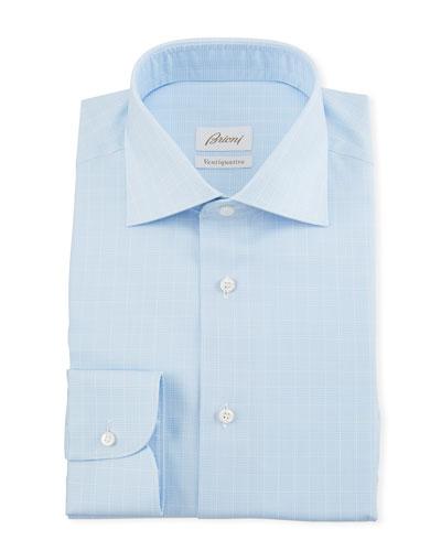 Men's Prince of Wales Dress Shirt
