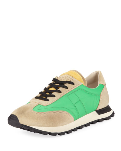 Men's Low-Top Running Sneakers w/ Dirty Treatment