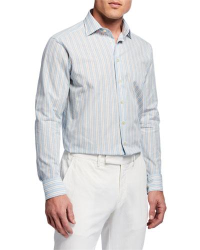 Multicolored Check Sport Shirt