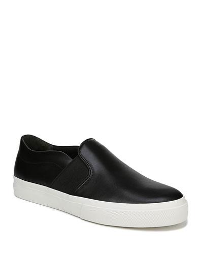 Men's Fenton Leather Slip-On Sneakers