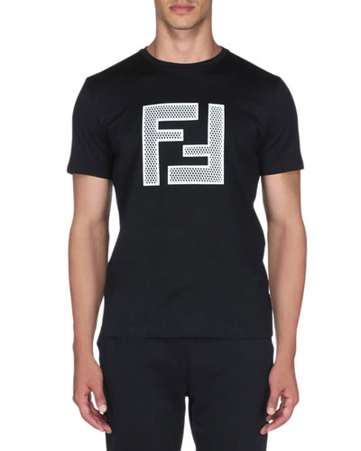 Men's Mesh Logo T-Shirt