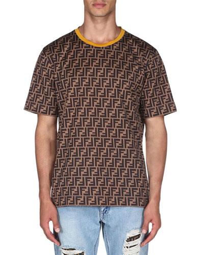 13374cd71357 Men s Allover Print Short-Sleeve T-Shirt Quick Look. Fendi