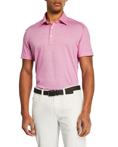 ec48432938 Men's Berry Knit Short-Sleeve Shirt