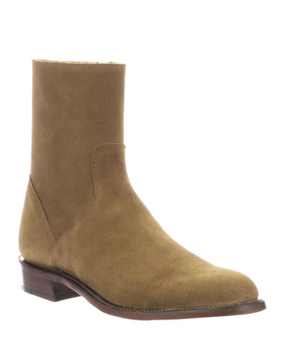Men's Jonah Calf Suede Boots (Made to Order)
