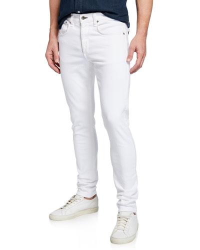 Men's Fit 1 Slim-Skinny Broken Twill Jeans