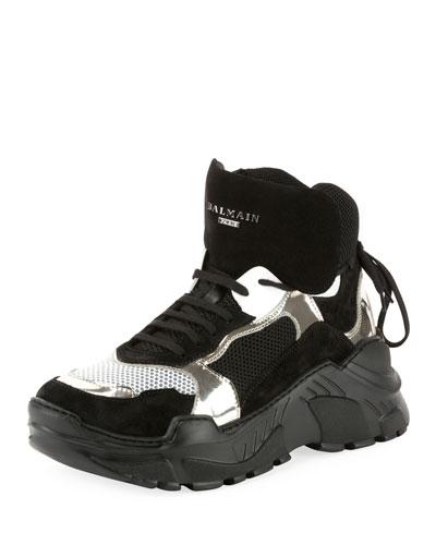 Men's Joan High-Top Tech Sneakers