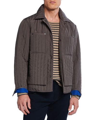 Men's Quilted Worker Jacket