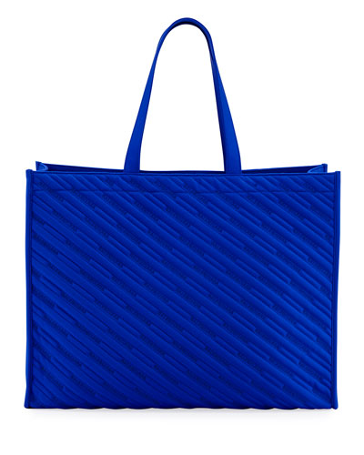 Men's Market Shopper Nylon Tote Bag