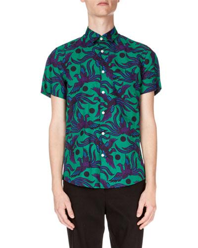 31f4c15180 Kenzo Colorful Short Sleeve Shirt
