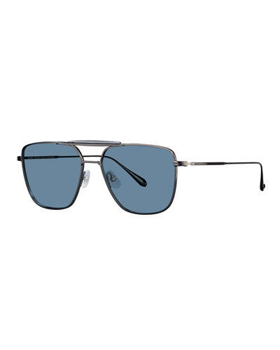 Men's Convoy 56 Square Aviator Sunglasses