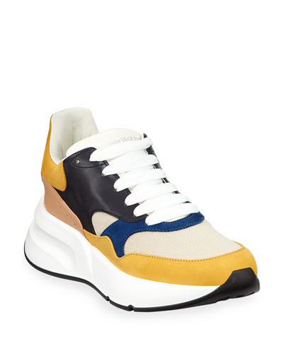 2cfa55f2fb0f Men s Oversized Colorblock Trainer Sneakers Quick Look. Alexander McQueen