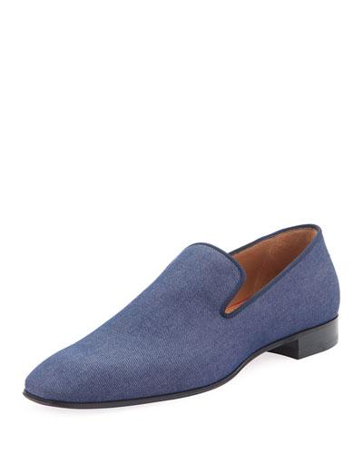 Men's Dandelion Flat Denim Loafers