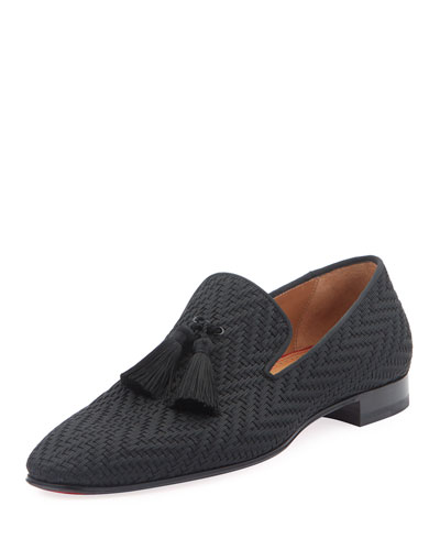 Men's Tresse Woven Tassel Loafers