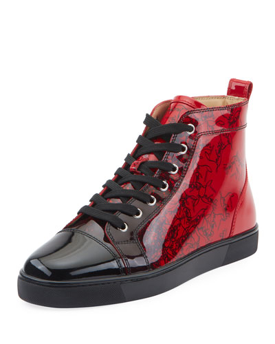 0ae0fa80b967 Men s Louis Ombre Patent Leather High-Top Sneakers Quick Look. Christian  Louboutin