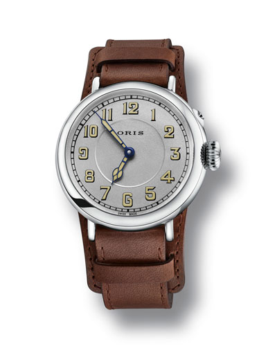 Oris Men's 40mm Big Crown Watch w/ Leather