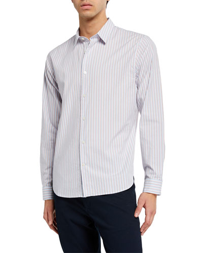 Men's Shadow Stripe Sport Shirt
