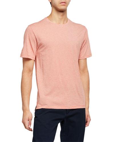Men's Feeder Stripe Crewneck T-Shirt