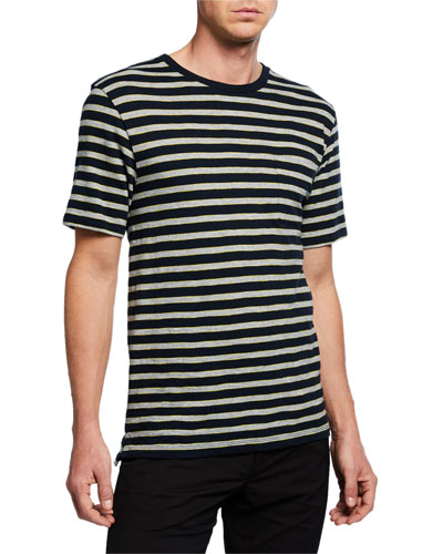 Men's Short-Sleeve Stripe T-Shirt