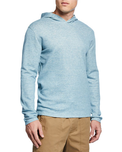 Men's Double-Knit Pullover Hoodie