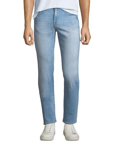L'Homme Slim-Straight Denim Jeans