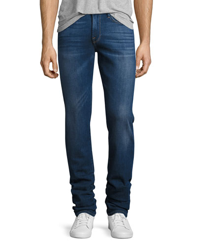 Slim-Straight Denim Jeans