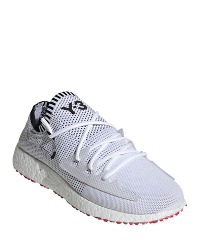Men's Raito Racer Knit Running Shoes, White