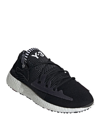 Men's Raito Racer Knit Running Shoes, Black