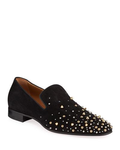 Men's Milkylion Studded Venetian Loafers