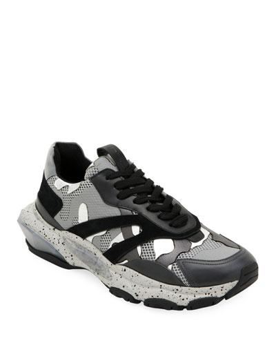 f366380c2749e Men s Bounce Camo Runner Sneakers Quick Look. Valentino Garavani