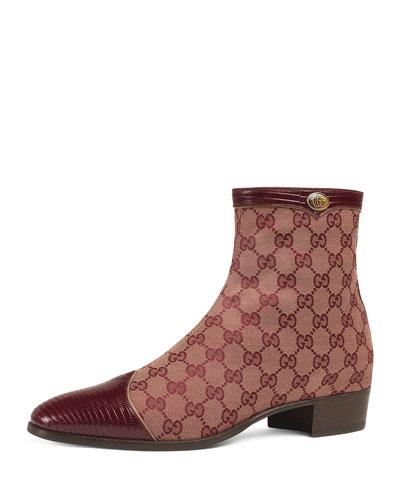 Men s Plata Original Canvas Ankle Boots c03fe013e61