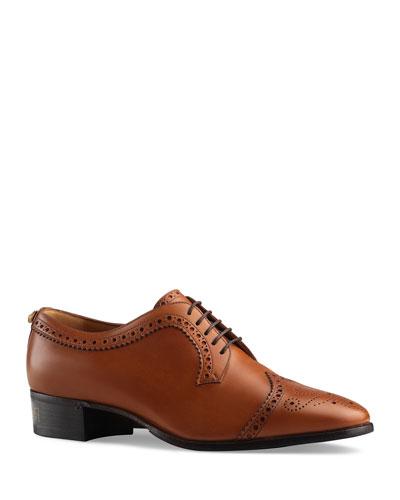 b2d983dbda02 Men s Thune Lace-Up Brogue Shoes Quick Look. Gucci