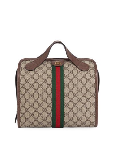Men's GG Supreme Small Duffel Bag