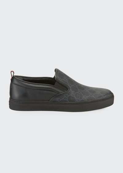 Men's Dublin Logo Slip-On Sneakers