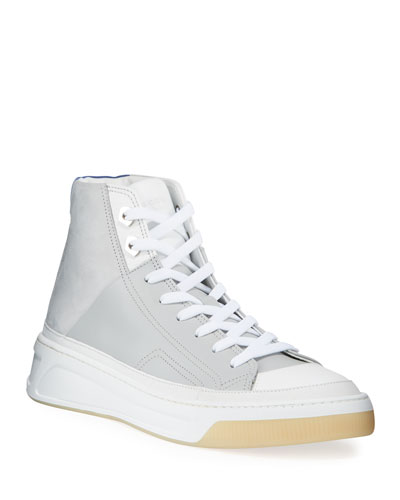 Men's Prodigy Mid-Top Leather Sneakers