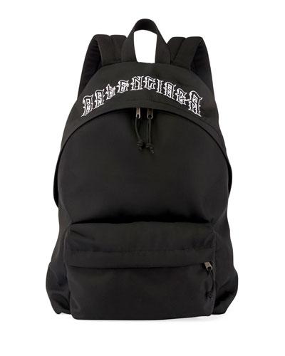 Men's Explorer Tattoo-Logo Backpack