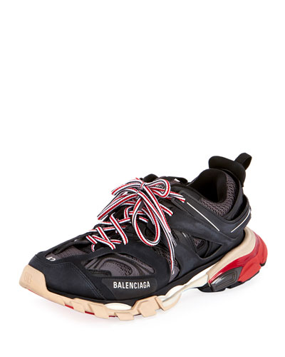 Men's Track Colorblock Sneakers