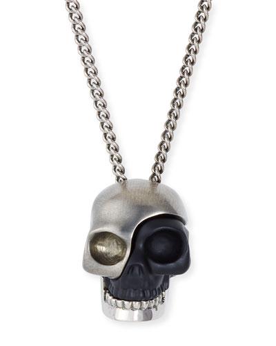 Alexander McQueen Men's Divided Skull Pendant