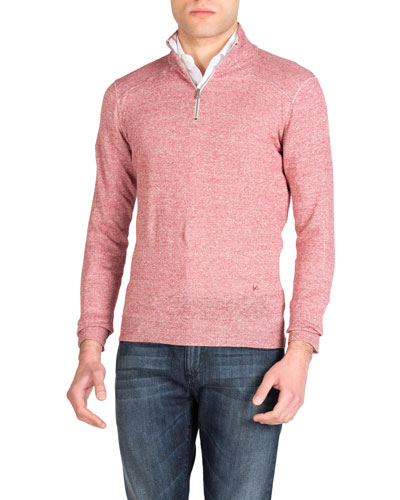 Men's Linen-Cotton Sweater