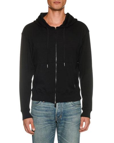 Men's Long-Sleeve Full-Zip Hoodie