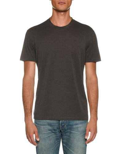 Men's Short-Sleeve Solid T-Shirt