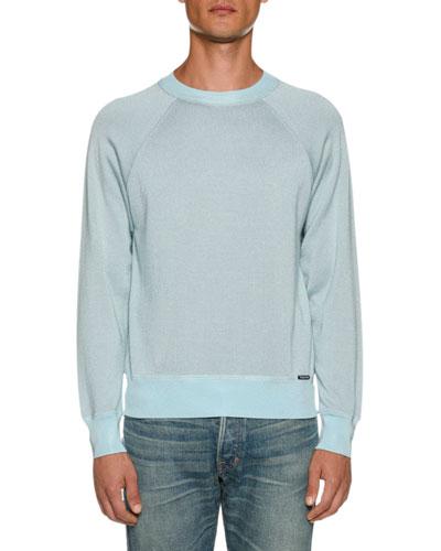 Men's Long-Sleeve Crew Sweater