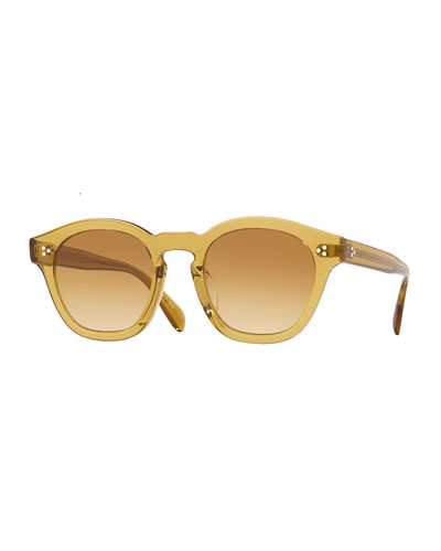 Men's Boudreau LA 58 Gradient Acetate Sunglasses
