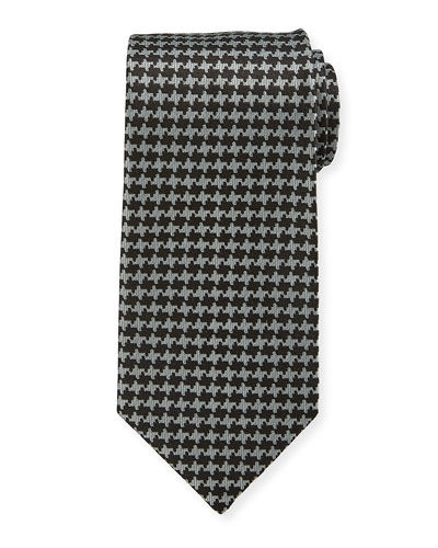 TOM FORD 9cm Houndstooth Tie