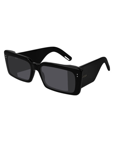 268d63e1dcb Men s Chunky Rectangle Sunglasses Quick Look. Gucci