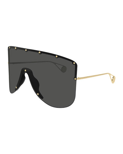 4187eaf3510 Men s Star-Trim Shield Sunglasses