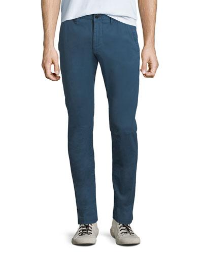 Men's Twill Skinny Pants