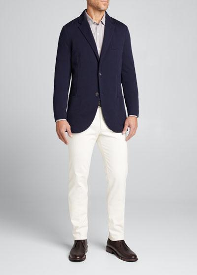 Men's Double Wish Wool Knit Jacket