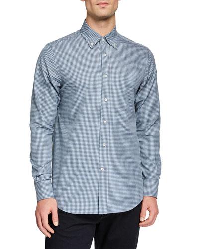 Men's Alfred Check Sport Shirt